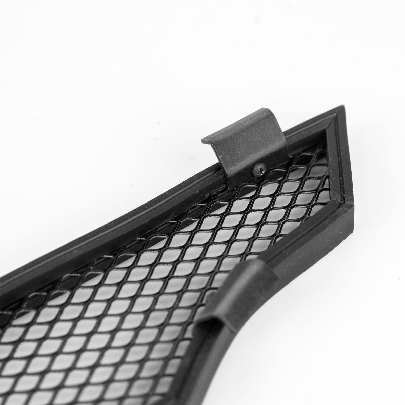 Защита радиатора для LADA Granta с 2018г.в., black низ
