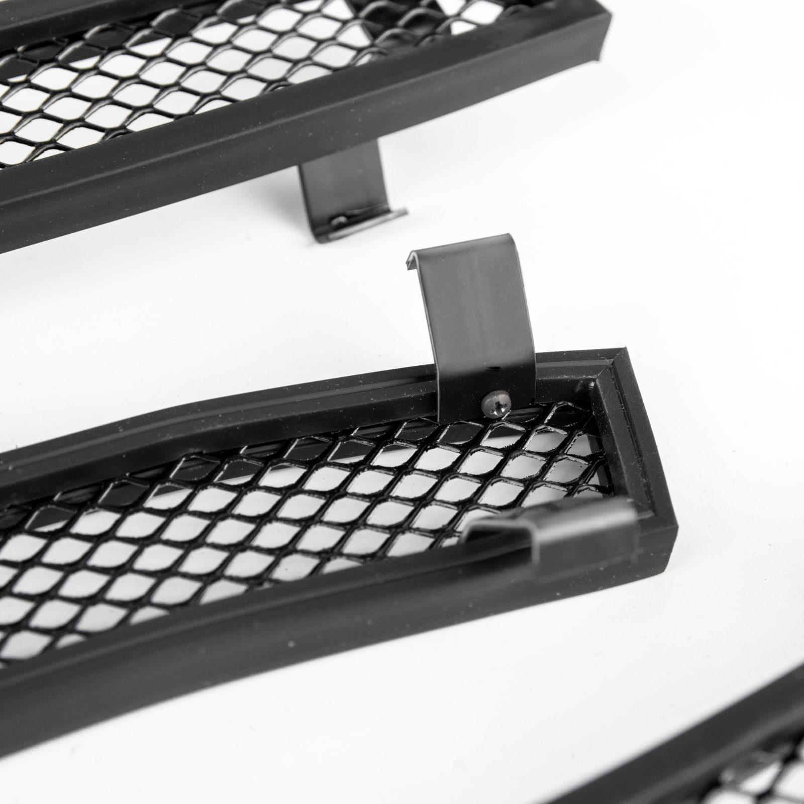 Защита радиатора LADA Xray, black верх
