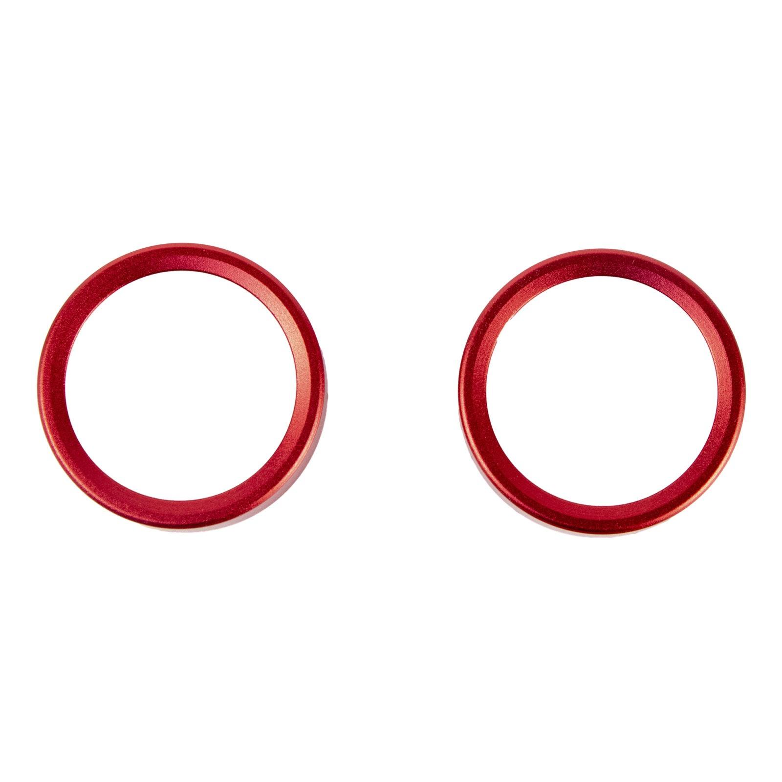 Накладки на ручки отопителя для LADA Vesta, Xray (красные)