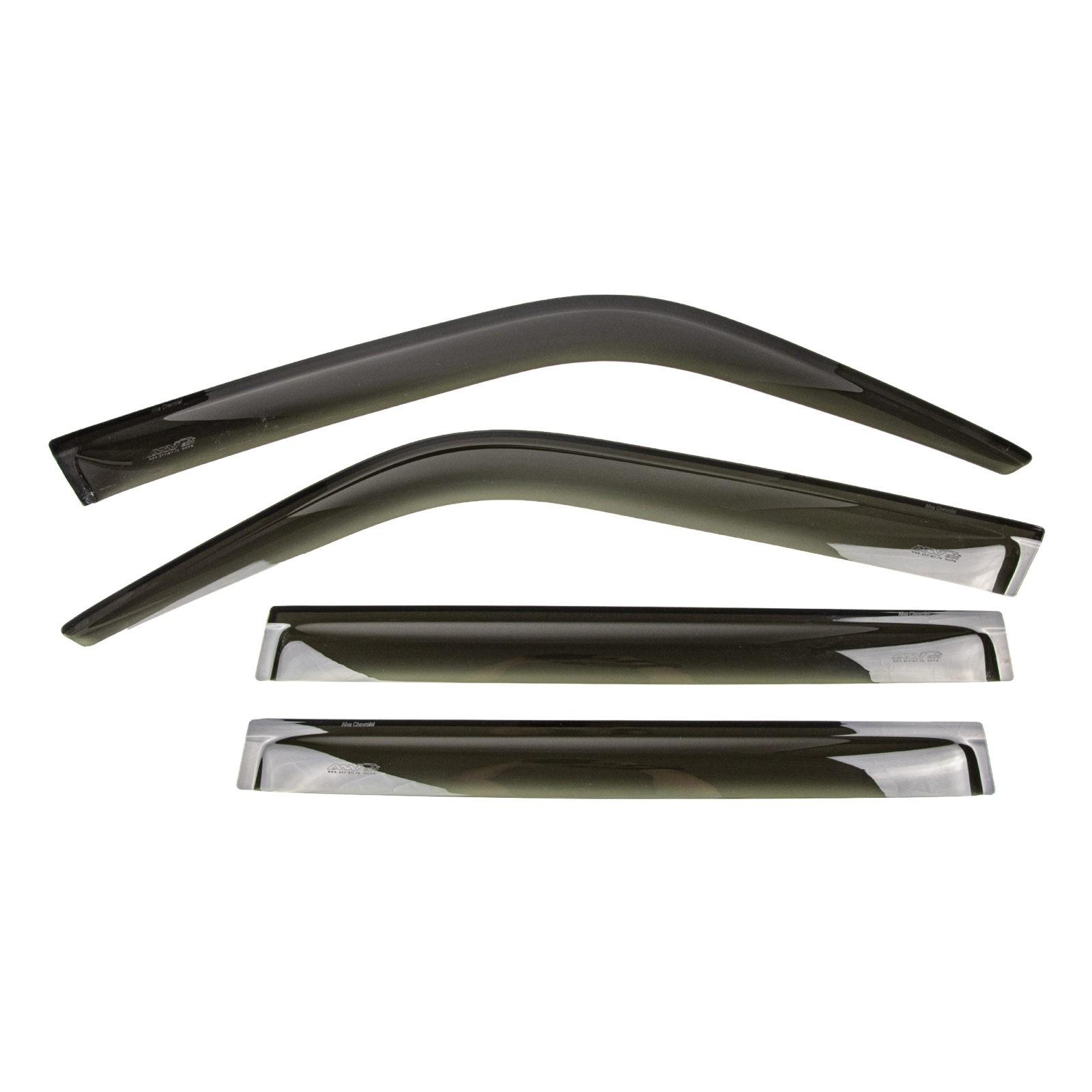 Дефлекторы боковых стекол (ветровики) ANV air для LADA Niva с 2002 г.в.