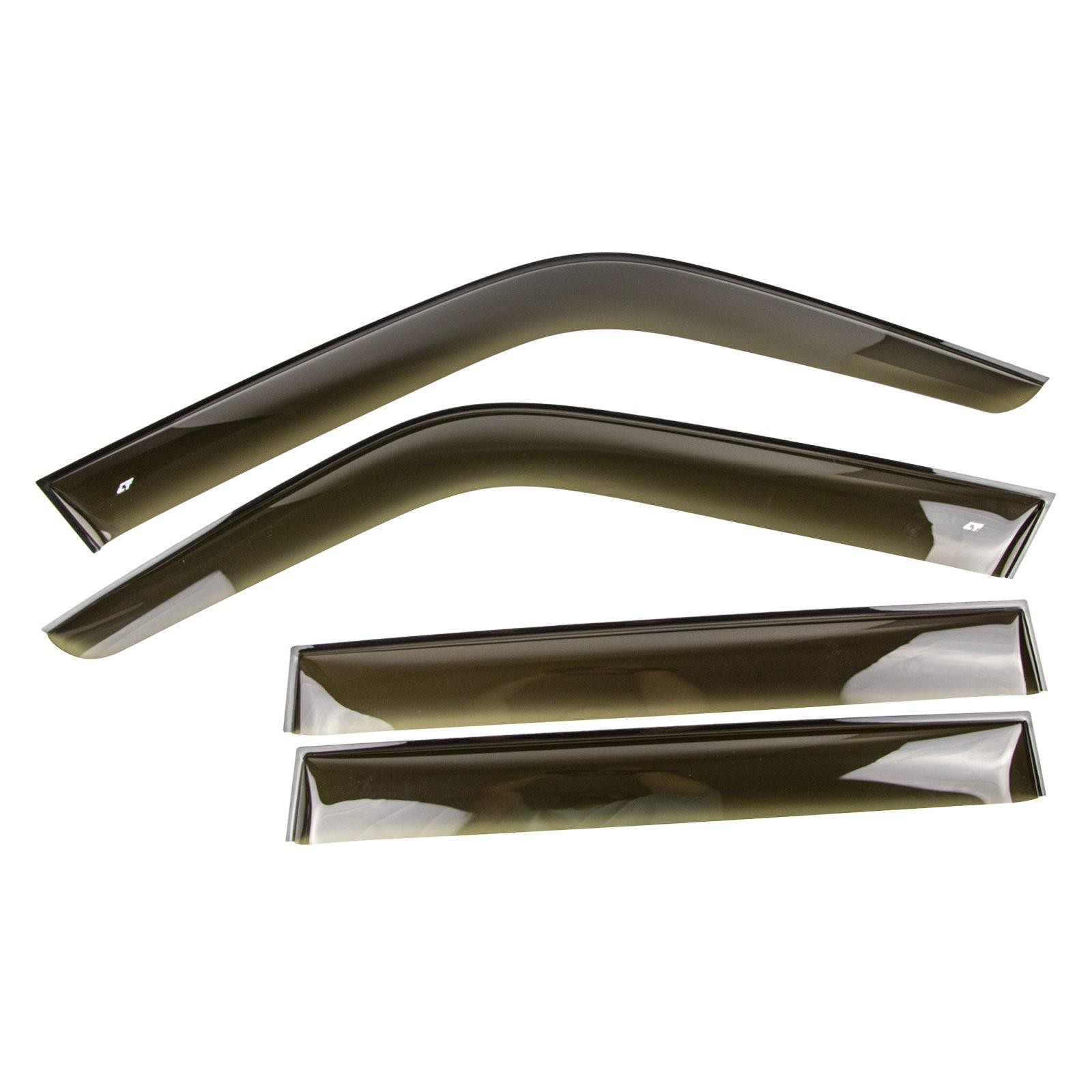 Дефлекторы боковых стекол (ветровики) широкие Cobra Tuning для LADA Niva