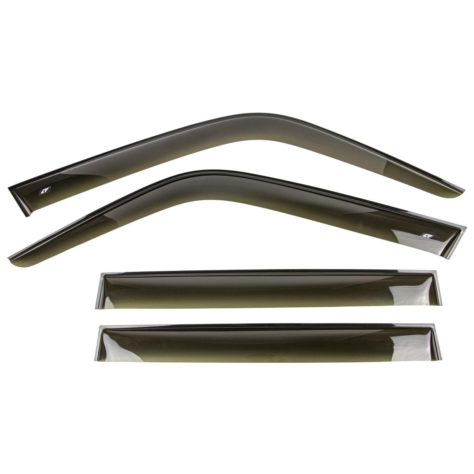 Дефлекторы боковых стекол (ветровики) Cobra Tuning для LADA Niva