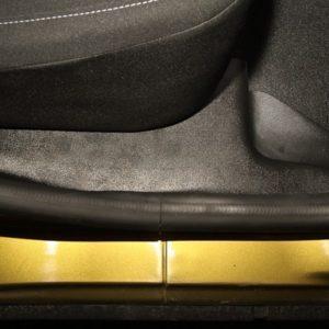 Полный комплект накладок на ковролин в салон ArtForm Renault SANDERO с 2018 г.в.