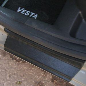 Полный комплект накладок на ковролин в салон ArtForm для LADA Vesta