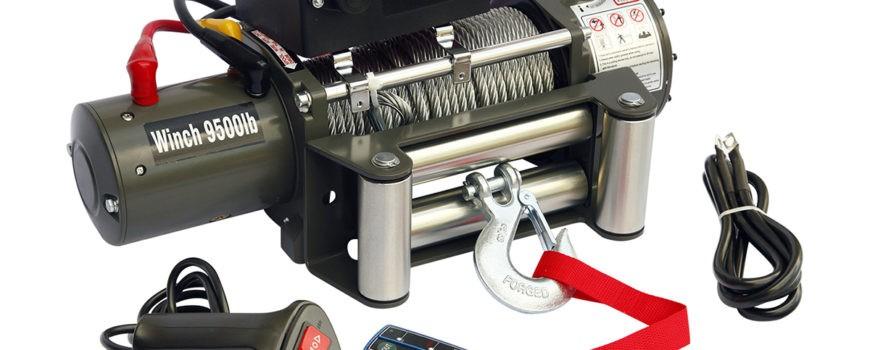 Выручит всегда: лебёдка Electric Winch 9500lb