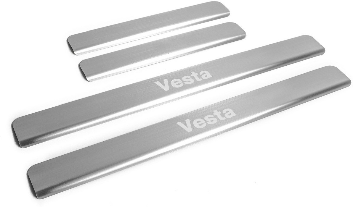 Накладки порогов (4 шт.) Vesta 2015