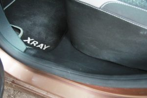 Накладки на ковролин LADA XRAY задние