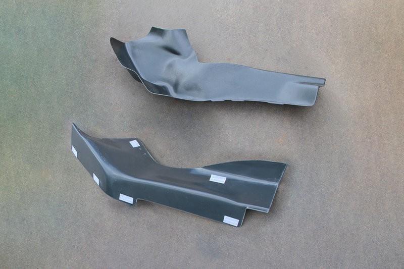 Накладки на ковролин LADA XRAY центральные на туннель пола