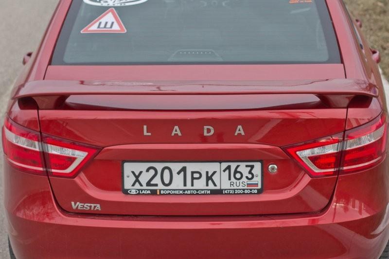 Спойлер Sport LADA Vesta