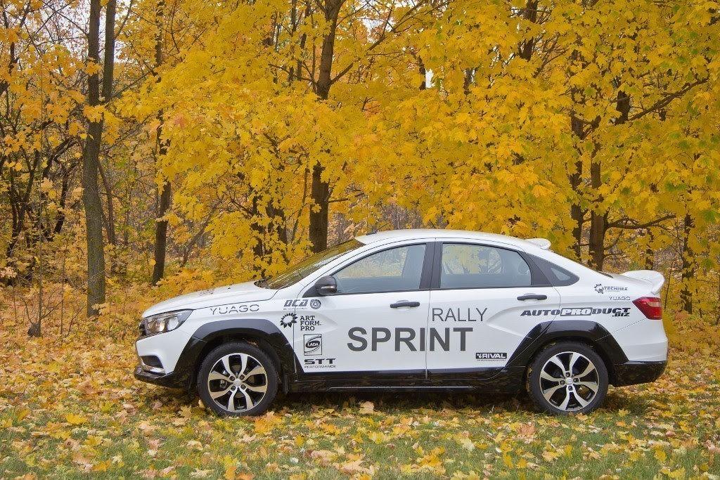 Vesta rally sprint