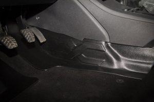 Накладка на ковролин тоннельная водителя LADA Vesta