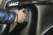 Накладки на арки в багажник LADA Vesta