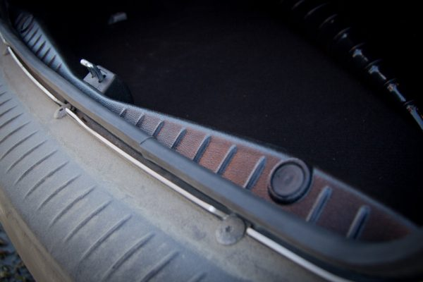 Накладка в проём багажника Рено Логан II с 2014 г.в.