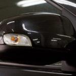 Накладки на зеркала под повторитель (неокрашенные) для Рено Логан II с 2014 г.в.