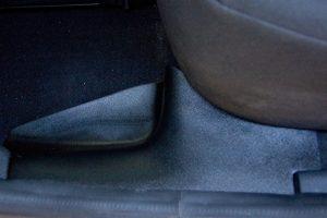 Накладки на ковролин задние Рено Логан II с 2014 г.в.