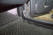 Накладки на ковролин передние (2 шт.) для Nissan Terrano с 2014 г.в