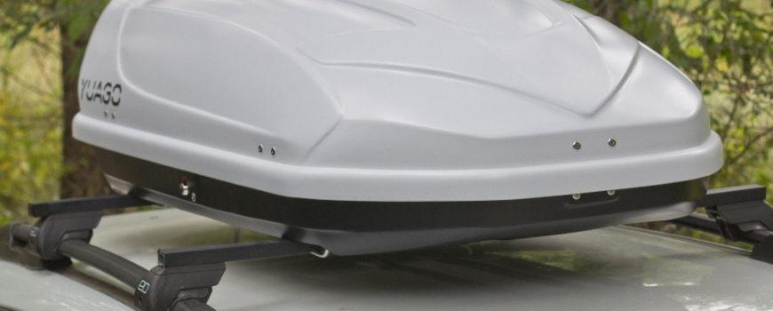 Автобокс Yuago Optima с усиленным поддоном (EURO LOCK) 390л