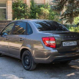 Спойлер-лип на крышку багажника (в цвет автомобиля) ArtForm для LADA Granta седан FL