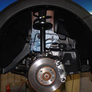 Подкрылок передний правый для Renault Sandero Stepway с 2014 г.в.