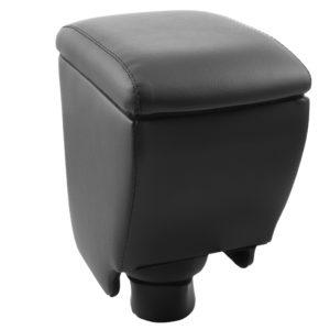 Автоподлокотник REIN (черный, экокожа) для Kia Rio 4 поколение