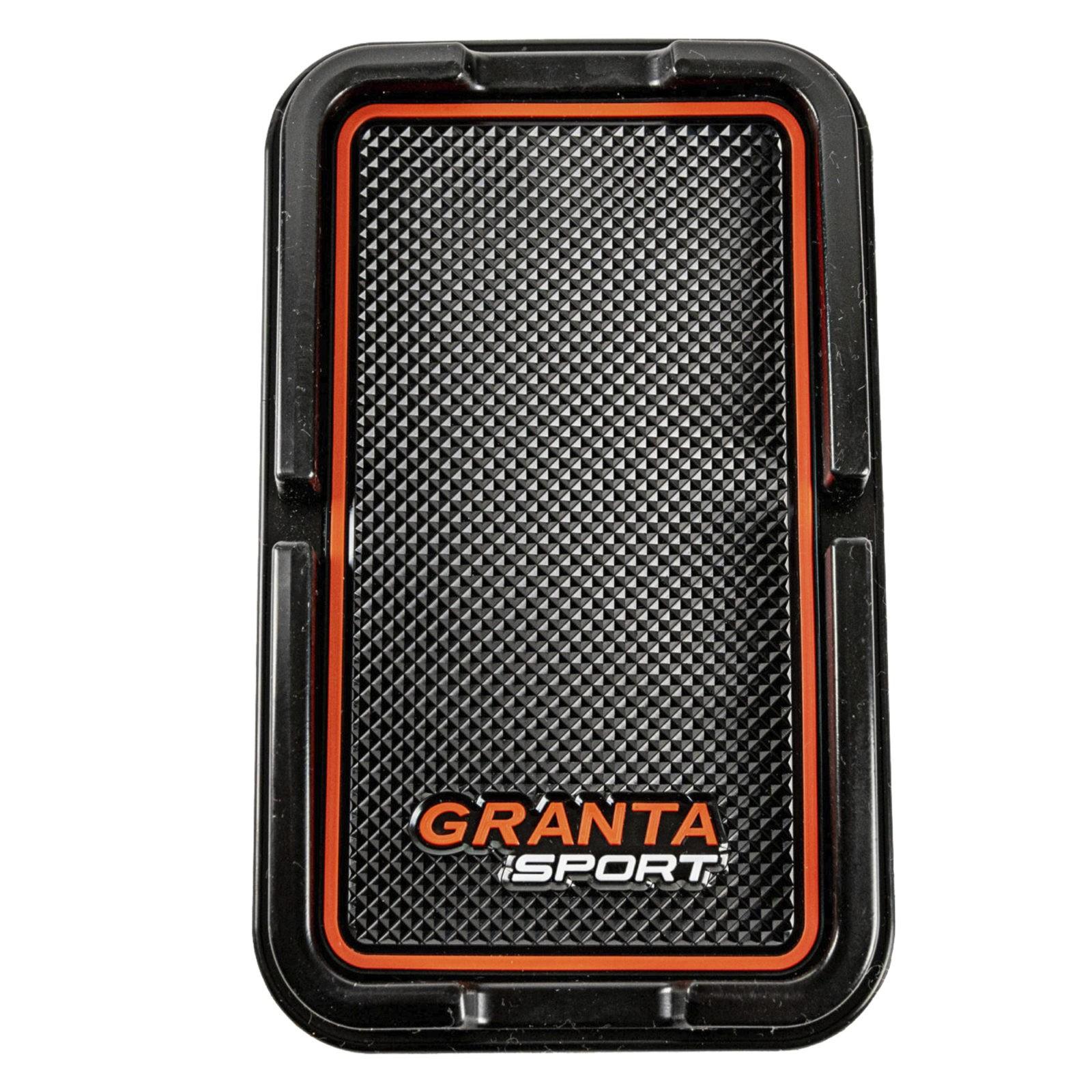 Коврик с бортиком для телефона LADA Granta (красный)