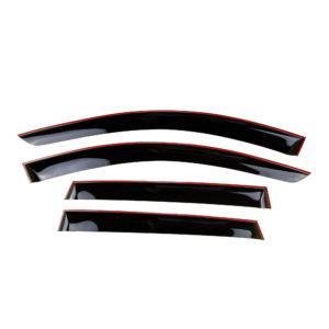 Дефлекторы боковых стекол (ветровики) Cobra Tuning Renault Duster с 2021 г.в.