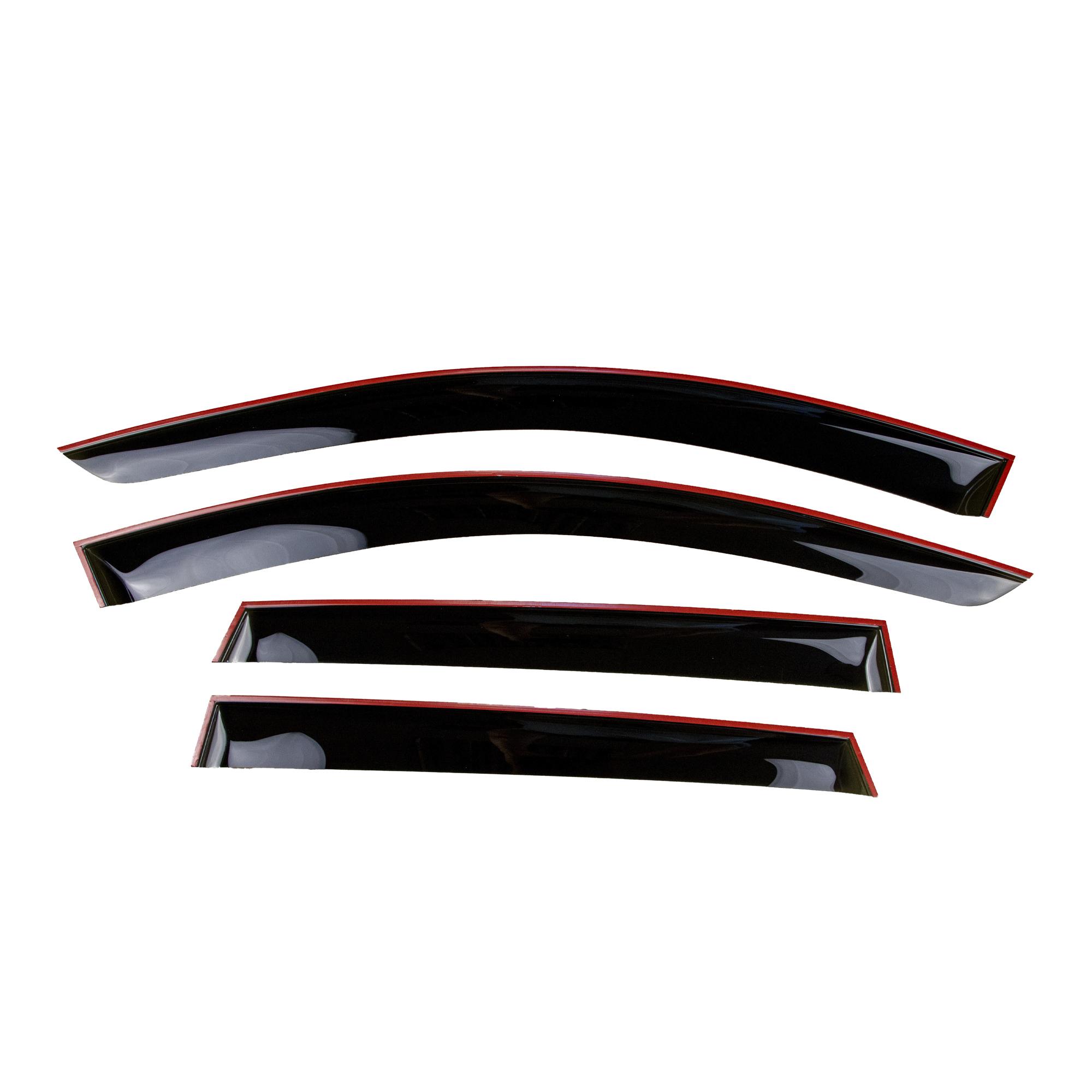 Дефлекторы боковых стекол (ветровики) Cobra Tuning Renault Duster с 2021 г.в.1