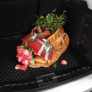 Коврик в багажник полиуретан (для комплектаций без фальшпола) для LADA Xray