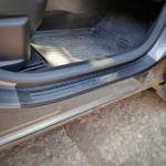 Накладки на пороги в проем дверей для Renault Arkana