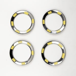 Кольца накладки на дефлекторы для LADA Largus