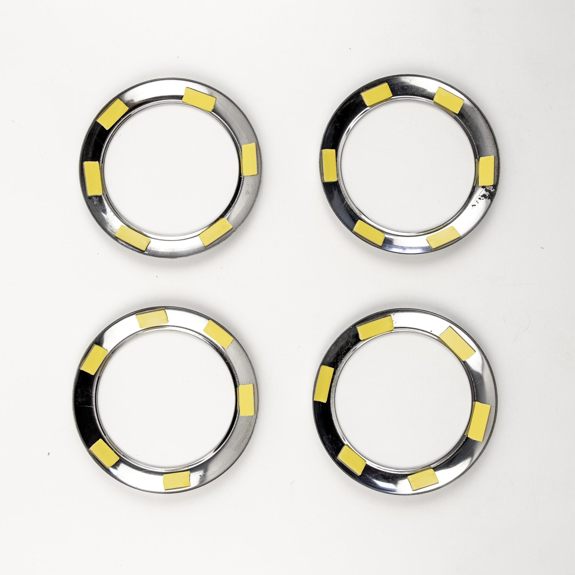 Кольца накладки на дефлекторы для LADA Largus1