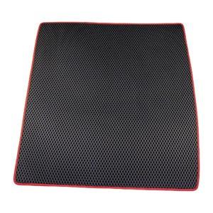 Коврик багажника EVA для Renault Duster (черный, красный)