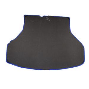 Коврик багажника EVA для LADA Granta седан с 2018 г.в. (черный, синий)