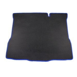 Коврик багажника EVA для LADA XRAY (черный, синий)