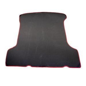 Коврик багажника EVA для LADA Largus 5 мест (черный, красный)