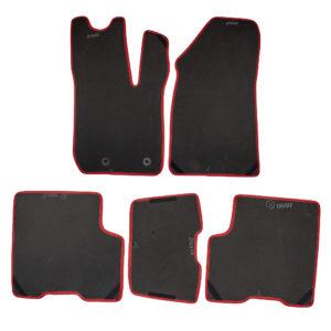 Коврики EVA для Renault Arkana (черный, красный)