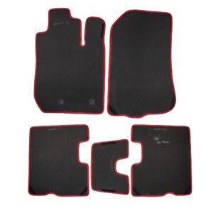 Коврики EVA для Renault Duster (черный, красный)