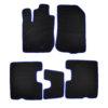 Коврики EVA для Renault Duster (черный, синий)