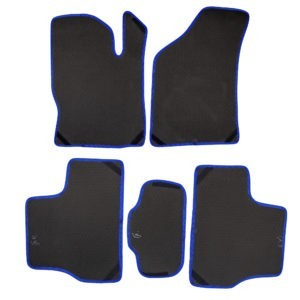 Коврики EVA для LADA Granta (черный, синий)