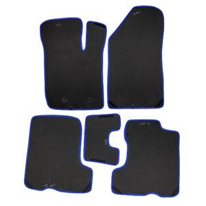 Коврики EVA для LADA XRAY (черный, синий)