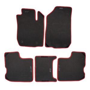 Коврики EVA для LADA Largus (черный, красный)