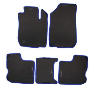 Коврики EVA для LADA Largus (черный, синий)