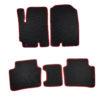 Коврики EVA для Kia Rio 4-е поколение (черный, красный)