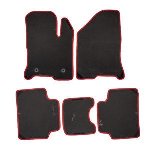 Коврики EVA для LADA Vesta (черный, красный)
