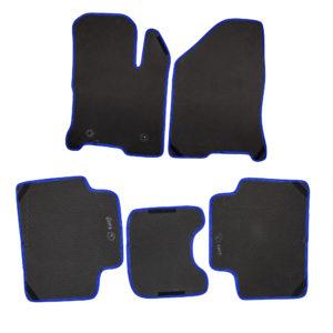 Коврики EVA для LADA Vesta (черный, синий)