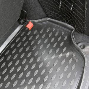 Коврик в багажник полиуретан для LADA Largus, 7 мест