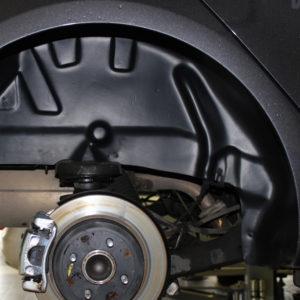 Подкрылок с шумоизоляцией задний правый для Kia Rio 3 поколение