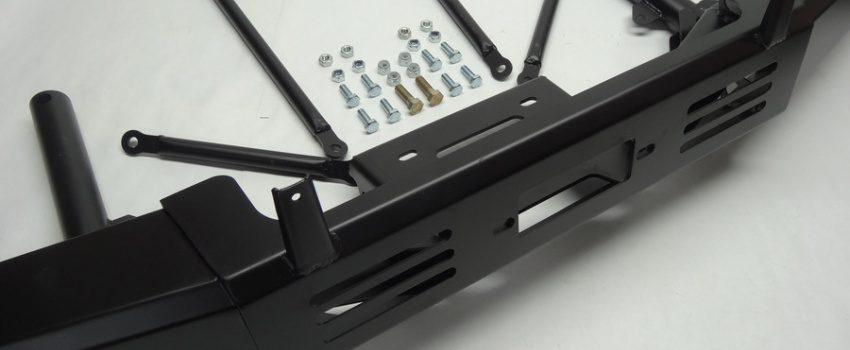 Броня крепка: усиленный бампер для LADA 4x4