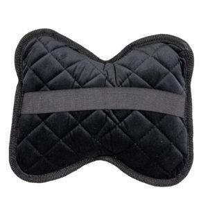 Подушки на подголовник, велюр-ромб, цвет черный