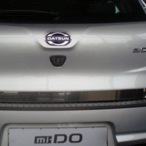 Накладка на задний бампер ArtForm для Datsun mi-DO с 2014 г.в.